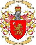 Aasgard Family Crest from Norway
