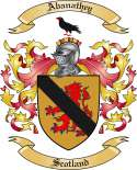 Abanathey Family Crest from Scotland