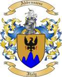 Abbruzzese Family Crest from Italy2