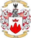 Abbruzzi Family Crest from Italy