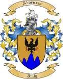 Abbruzzo Family Coat of Arms from Italy2