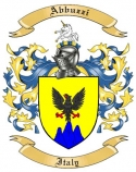 Abbuzzi Family Coat of Arms from Italy