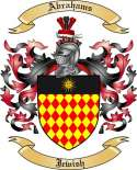 Abrahams Family Coat of Arms from Jewish