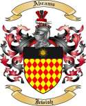 Abrams Family Crest from Jewish