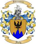 Abruzzesi Family Crest from Italy2