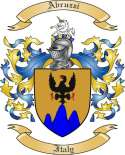 Abruzzi Family Crest from Italy2