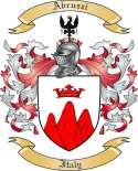 Abruzzi Family Crest from Italy