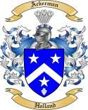 Ackerman Family Crest from Holland