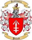 Aczkiewicz Family Crest from Poland