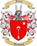 Adam Family Crest from Germany