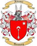 Adamer Family Coat of Arms from Germany