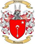 Adamus Family Coat of Arms from Germany