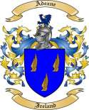 Adeane Family Crest from Ireland
