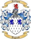 Adekyns Family Coat of Arms from England