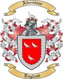 Aderstone Family Crest from England