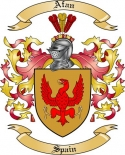 Afan Family Coat of Arms from Spain2