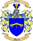Afan Family Coat of Arms from Spain