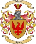 Afano Family Coat of Arms from Spain2