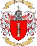 Agatensi Family Coat of Arms from Italy