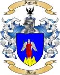 Agnoli Family Crest from Italy