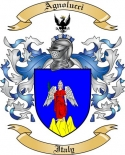 Agnolucci Family Crest from Italy