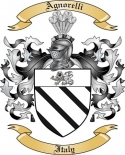 Agnorelli Family Coat of Arms from Italy2