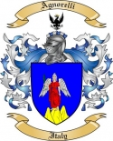 Agnorelli Family Crest from Italy