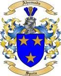 Ahumada Family Crest from Spain