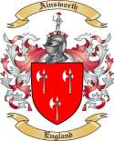 Ainsworth Family Crest from England