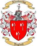 Ainsworthy Family Coat of Arms from England