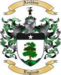 Aishton Family Crest from England