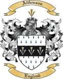 Aitkenson Family Coat of Arms from England