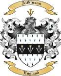 Aitkinson Family Crest from England