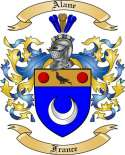 Alane Family Coat of Arms from France