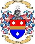 Albanice Family Crest from Italy