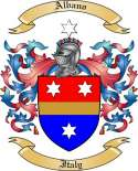 Albano Family Crest from Italy