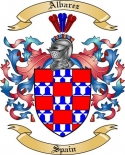 Albarez Family Coat of Arms from Spain