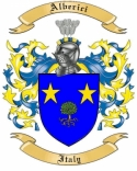Alberici Family Coat of Arms from Italy