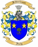 Albericoni Family Crest from Italy