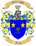 Alberighi Family Crest from Italy