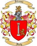Alcamo Family Crest from Italy