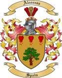 Alcoreza Family Crest from Spain