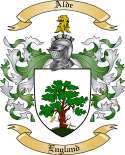 Alde Family Crest from England