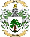 Alde Family Crest from Scotland
