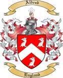 Aldred Family Coat of Arms from England