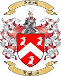 Aldreth Family Crest from England