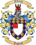 Aldrich Family Crest from England