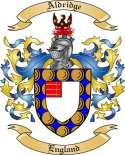 Aldridge Family Crest from England