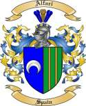 Alfari Family Crest from Spain