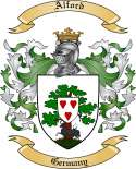 Alford Family Crest from Germany